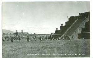 Mexico, Cortejo de Dioses, Teotihuacan, 1952 used real photo