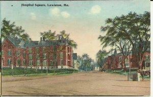 Hospital Square, Lewiston, Me.