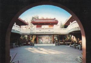 Canada Temple Courtyard At Dawn International Buddhist Society Ruchmond Briti...