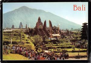BR4873 Bali on the baack seen Mount Agung  indonesia