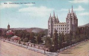 Utah Salt Lake City Temple Square