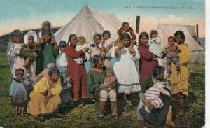 ALASKA , 1900-1910s ; Eskimo Mickaninnies on parade