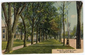 Springfield, Mass, State St., (looking East)