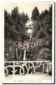 Old Postcard The Cascade Rennes Tabor