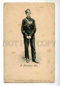 247865 UK English Messenger Boy Vintage Wrench postcard