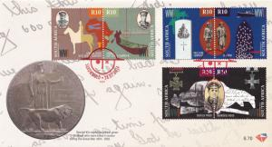 Saxonwold 1914 South Africa WW1 Great War Palestine Delville Wood FDC