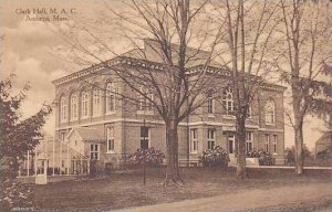 Massachusetts Amhurst Clark Hall M.A.C. Albertype