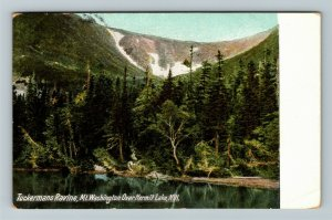 Hermit Lake NH-New Hampshire, Tuckerman's Ravine, Vintage c1909 Postcard