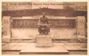 Scottish American War Memorial Prices Street Gardens Edinburgh Scotland, UK U...