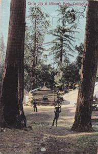 Scenic view of Camp Life at Wilson's Peak, California, 00-10s