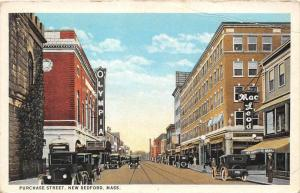 12817  MA  New Bedford 1920's   Purchase Street Olympia Theartre, Macleod