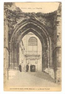 Le Grand Portail, La Charité-sur-Loire (Nièvre), France, 1900-1910s
