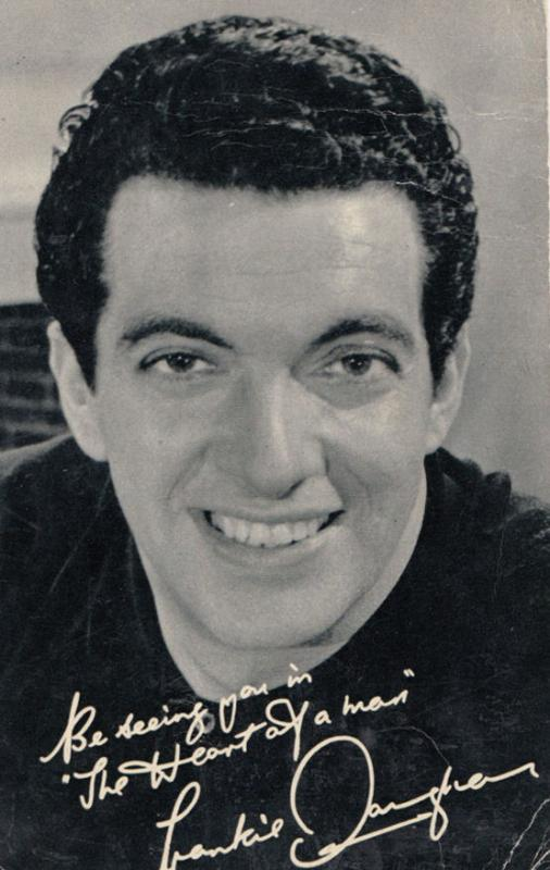 Frankie Vaughan The Heart Of A Man Debut Movie Advertising Photo