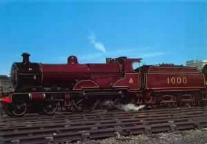 Postcard Midland Railway Compound 4-4-0 No.1000 ETW Dennis & Sons Ltd No. 50