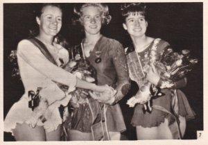 RP: Three Winning Figure Skaters, N. HASSLEROVA, S. DIJKSTROVA & R. HEITZEROV...