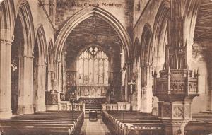 Newbury, St. Nicholas Nicolas Church Interior