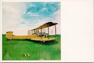 Vickers 'Vimy' Biplane John Holmes Illustration Unused Vintage Postcard C2