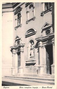 Sopron Republic of Hungary Dom templom kapua, Dom Portal Sopron Dom templom k...