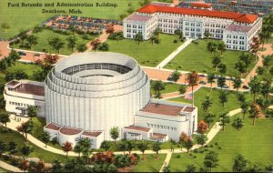Michigan Dearborn Ford Rotunda and Administration Building