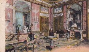 PARIS, France, 1900-1910s; Palais De Fontainebleau, Salon De Musique