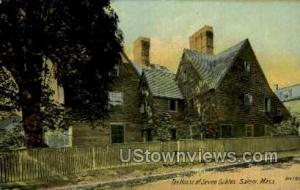 House of the Seven Gables Salem MA Unused