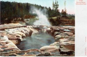 Crater, Oblong Geyser, Yellowstone National Park, 1905-06