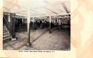 NY - New York City. Subway, Twenty Third Street Station