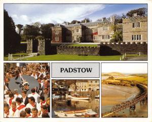 Cornwall Postcard, Padstow, Multi View S35