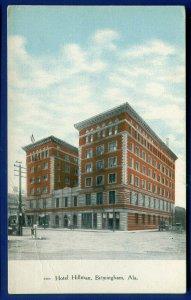 Birmingham, Alabama al Hotel Hillman unposted postcard