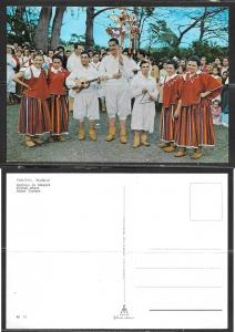 Portugal, Funchal, Madeira, musicians, dancers, unused