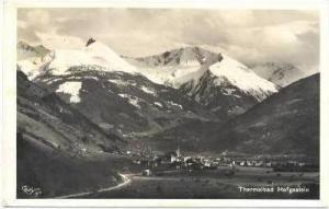 RP, THERMALBAD HOFGASTEIN, Austria (While German), PU 1942