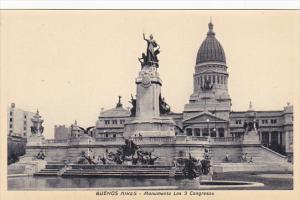 Argentina Buenos Aires Monumento Los 3 Congresos