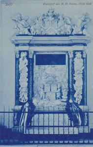 Delft,  Praalgraf van M. H. Tromp, Oude Kerk, South Holland, Netherlands, 00-10s