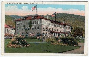 Lake George, N.Y., Fort William Henry Hotel
