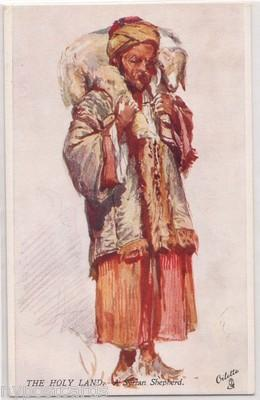 The Holy Land, Syrtan Shepherd / Tuck's 7311