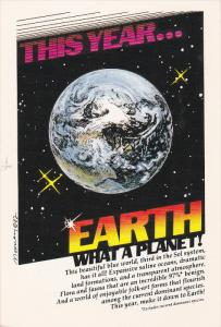 EARTH! What a planet , 1982