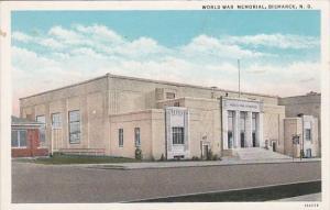 North Dakota Bismark World War Memorial Curteich