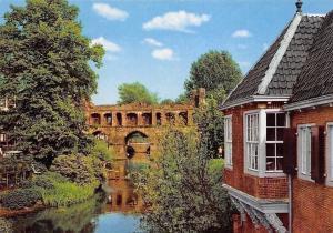 Netherlands Zutphen Berkelruine met Leeuwenhuisje Bridge Pont