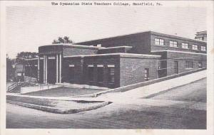 The Gymnasium State Teachers College Mansfield Pennsylvania