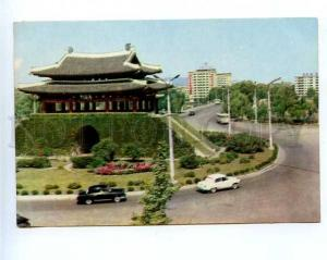 180370 Korea Pyongyang street Pothonmun old postcard