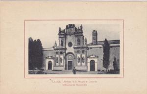 LECCE ,  Italy , 1900-10s ; Chiesa S.S. Nicolo e Cataldo