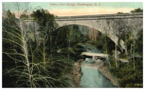 1910's Cabin John Bridge Washington D.C. PC2002