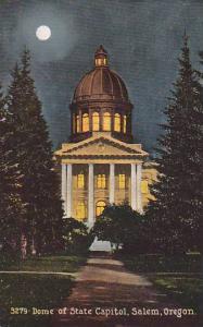 Dome Of State Capitol, Salem, Oregon, 1900-1910s