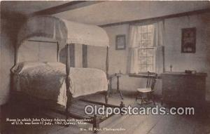 Quincy, Mass, USA John Quincy Adams Room, Sixth President