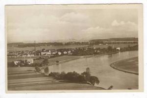 RP, Blick Auf Wegstadtl a.d.E. Mit Melnik, Wegstädtl, Czech Republic, 1920-1...