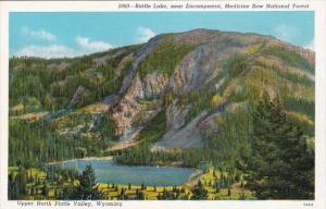 Battle Lake Medicine Bow Bational Forest Upper North Platte Valley Wyoming