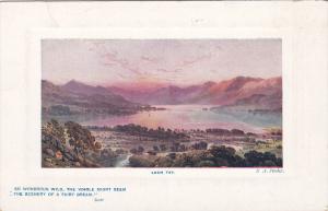 TUCK #9710, Panorama, Loch Tay, Scotland, UK, 1900-1910s