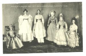 RPPC, Dolls of a Century 1807 to 1907, Antiquarian House
