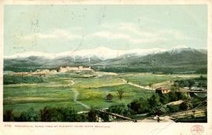 NH - Bretton Woods. Presidential Range, Mt Washington otel from Mt Pleasant h...