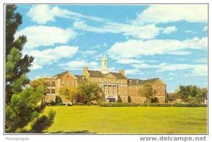 U.S. Veterans Administration Hospital in Wichita, Kansas, KS, Chrome